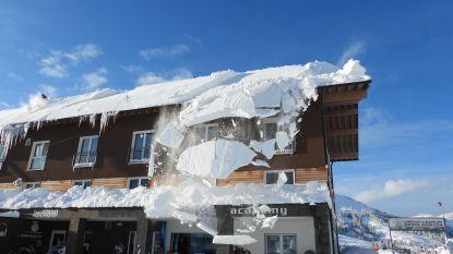 """""""De strijd tegen de sneeuw brengt mensen samen"""""""
