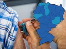 Vaccinatiegraad in Twente het laagst in Enschede en Almelo, hoogst in Dinkelland