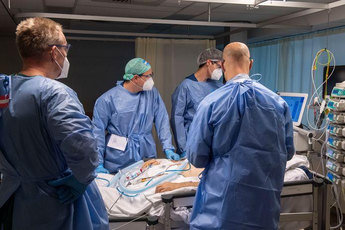 De intensive care in het UMC Utrecht.