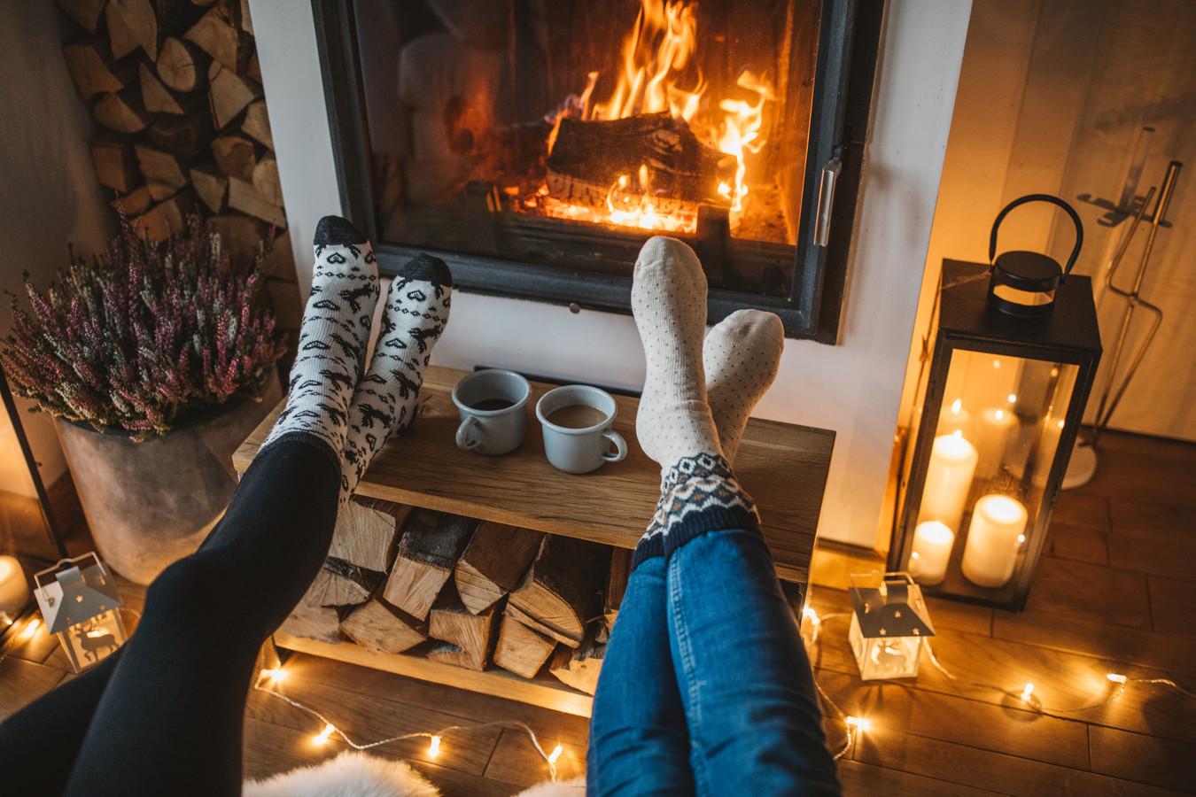 """""""Met een verantwoord gestookt vuur in de kachel voorzien we warme en sfeervolle winterdagen"""", zegt stichting De Groene Stoker."""
