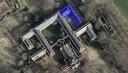 Het blauwe deel van het landgoed Haarendael in Haaren gaat een half jaar dicht. Hier werd in de oude wasserij op de eerste verdieping een drugslab aangetroffen.