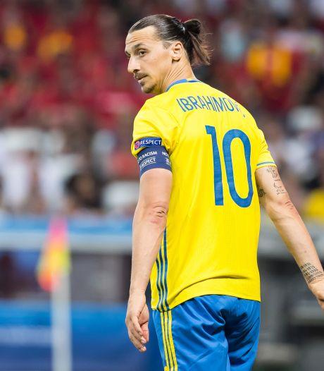 Zlatan bij Zweden: schitterende goals en controverses, maar nooit een kwartfinale