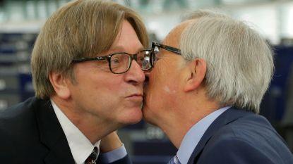 """Juncker bij afscheid: """"Brexit was verspilling van mijn energie"""""""
