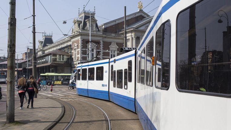 Vanaf mei kan tram 24 niet meer over het Concertgebouwplein Beeld Floris Lok