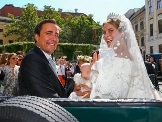 IN BEELD. Prinses Maria Annunciata van Liechtenstein stapt in het huwelijksbootje met grote Italiaanse liefde