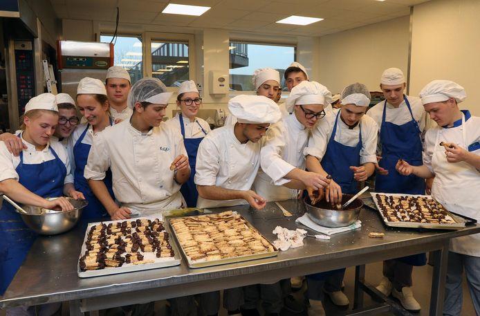 20 Italiaanse leerlingen en 5 leerkrachten verbleven een week lang in Geel.