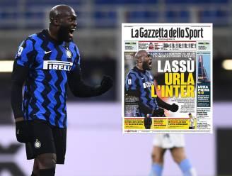 """'Tornado Lukaku' siert voorpagina's van Italiaanse kranten: """"Hij was meedogenloos"""""""