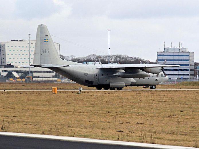 Ruim een halve eeuw oud zou de oudste van de vier C-130-werkpaarden van de Vliegbasis Eindhoven zijn voordat-ie met pensioen zou mogen.