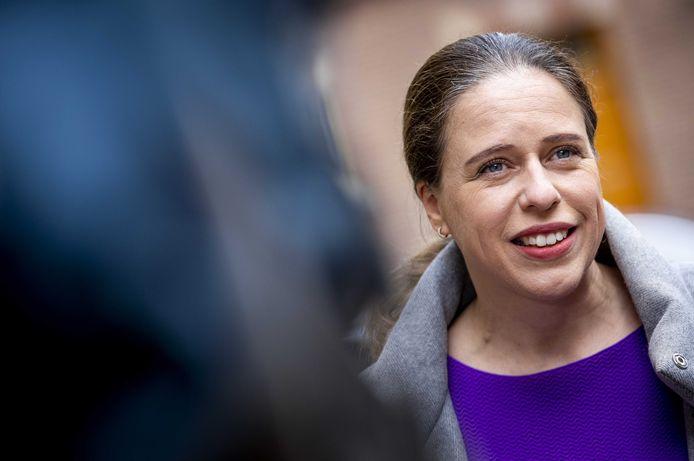 Carola Schouten, demissionair minister van Landbouw, Natuur en Voedselkwaliteit.
