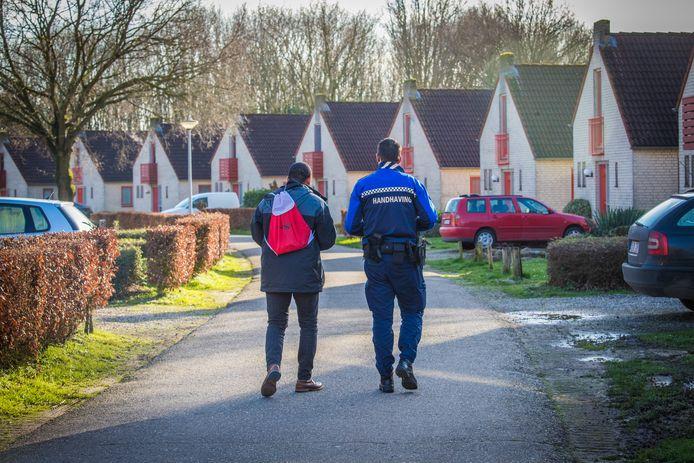 Controle op De Groene Heuvels in Ewijk