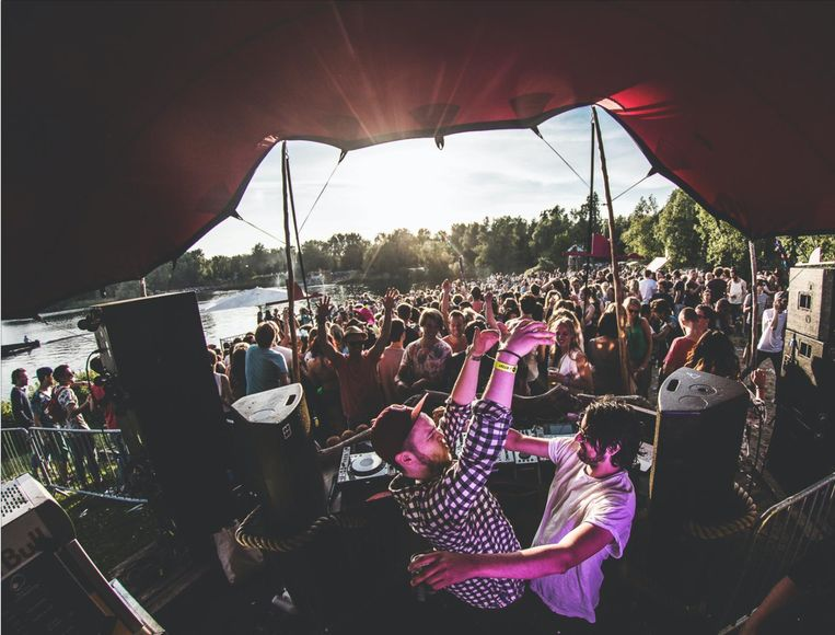 De Zon festival vorig jaar bij de Sloterplas. Beeld Marty Marn Photography