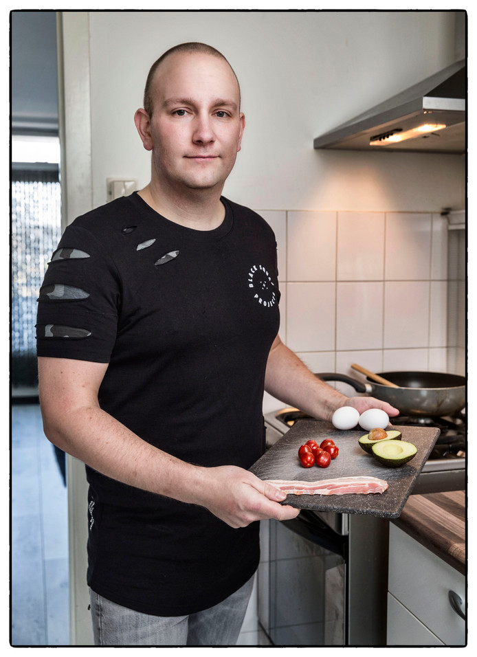 Luca Perini is al 10 jaar diabetes patient maar heeft geleerd om gezond te eten/koken en hoeft nu geen insuline meer te spuiten en minder medicijnen te slikken.