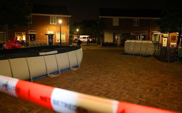 De man werd neergestoken en zakte in elkaar aan de Acasiasingel in Den Bosch.