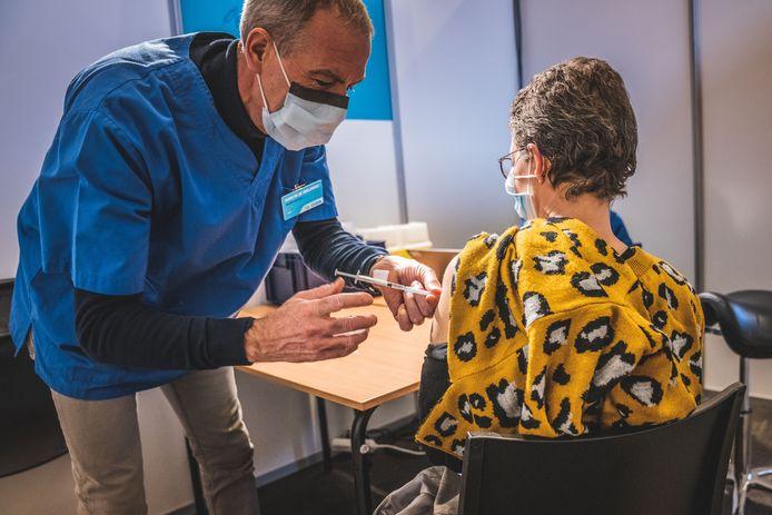 Het vaccinatiecentrum in Flanders Expo sluit binnenkort de deuren.