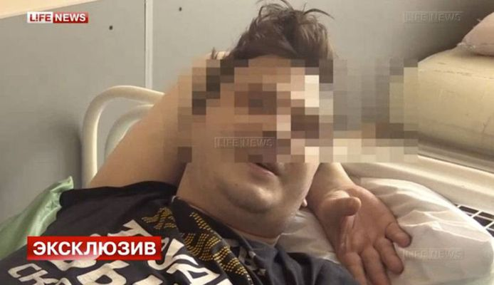 Dimitri Nikolaev vond het een buitenkans, zo'n saunaatje met de knappe blondine die hij net had ontmoet. 's Anderendaags werd hij wakker zonder testikels.