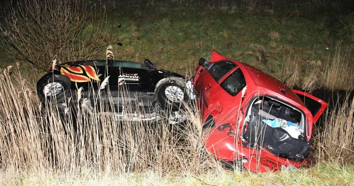Twee gewonden bij ongeluk op A58 bij Goes.