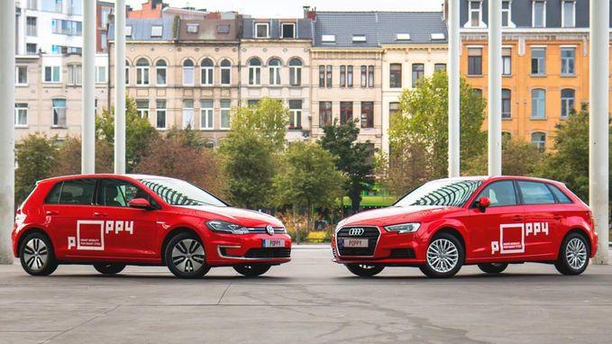 Auto's van nieuw autodeelproject mogen overal in Antwerpen achtergelaten worden