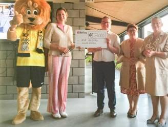 Businessclub van Olsa Brakel schenkt Ter Kleppe 3.000 euro voor aanleg rolstoeltoegankelijke paden