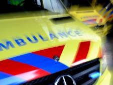 Sc 't Zand verliest en ziet tegenstander met ambulance afgevoerd worden