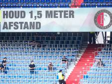 Feyenoord in eerste drie competitieduels voor bijna 13.000 fans in Kuip