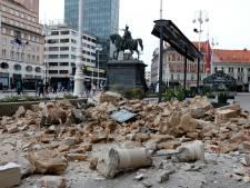Hoofdstad Kroatië getroffen door aardbeving