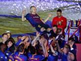 Zo nam Barcelona afscheid van sterspeler Iniesta