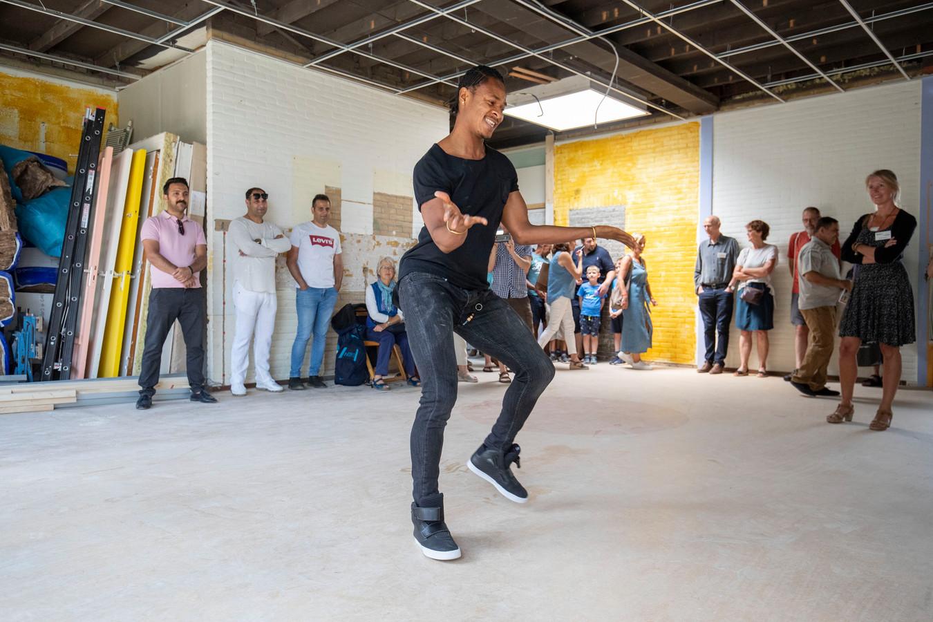 Tijdens de open dag was er ook een dansvoorstelling.