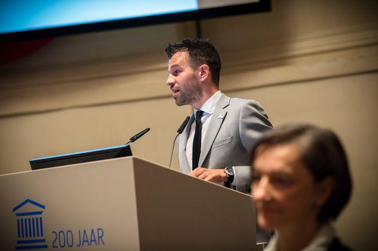 Professor Stijn Baert. Beeld RV