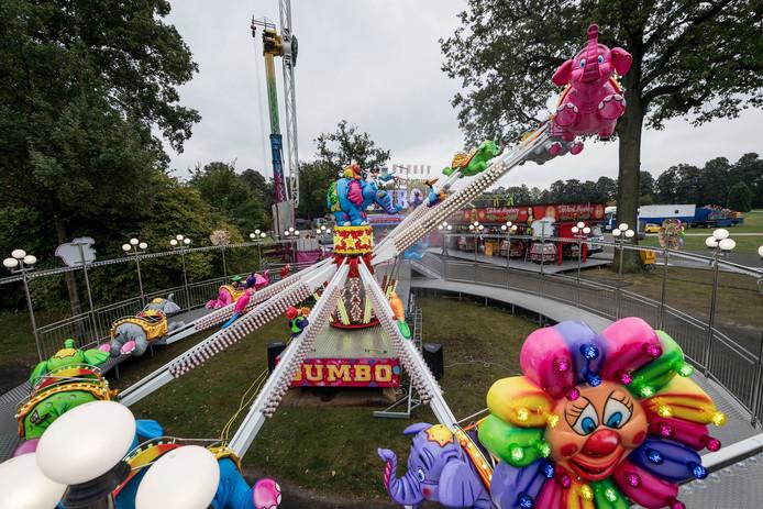 Een van de attracties op de Halloweenkermis die zaterdag begint.