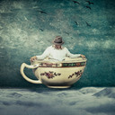 Foto uit het boek 'Het was zo stil in mij' van Mirella de Jong en  Rianke Lubberding