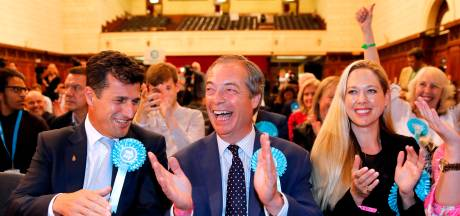 Brexit Party is grote winnaar in Groot-Brittannië