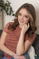 Anne van den Bulk uit Rijen voor Miss Teen of Noord-Brabant.