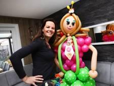 Clown Kim neemt zelfs op vakantie haar ballonnen mee: 'Mooiste werk ter wereld'
