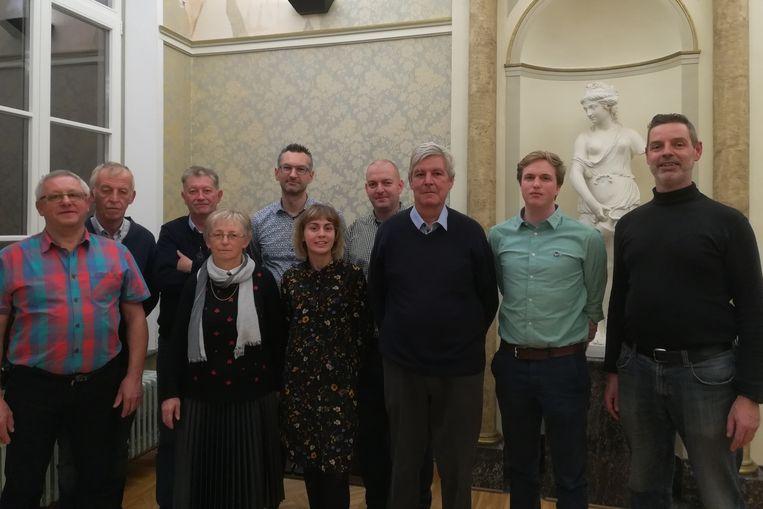 De Koninklijke Sint-Cecilia Harmonie van Lede heeft voortaan een tienkoppig bestuur.
