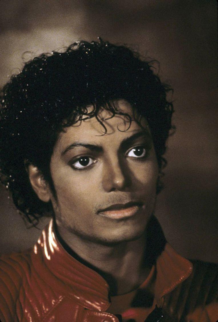 Michael Jackson in de clip Thriller. Foto GPD Beeld