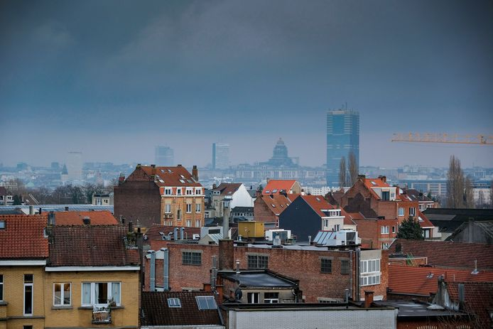 (Illustratiebeeld) De Brusselse skyline.