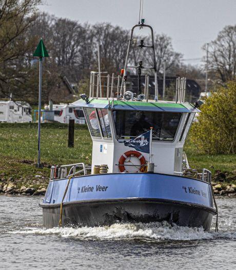 Water in IJssel zakt: ook kleine veren zijn weer in de vaart