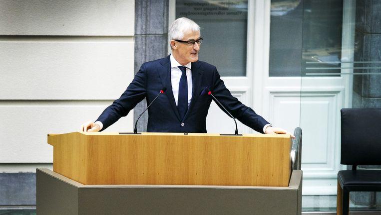 Bourgeois hield het in zijn Septemberverklaring bij een opsomming van vastgelegde plannen. Beeld Tim Dirven