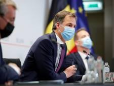"""Alexander De Croo: """"L'heure de fermeture des terrasses repoussée pour les matchs de l'Euro"""""""