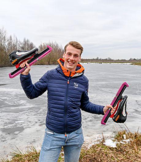 Schaatstalent Gerrits (19) uit Oudenbosch tekent contract bij Team Jumbo-Visma: 'Ik moest mezelf even in mijn arm knijpen'