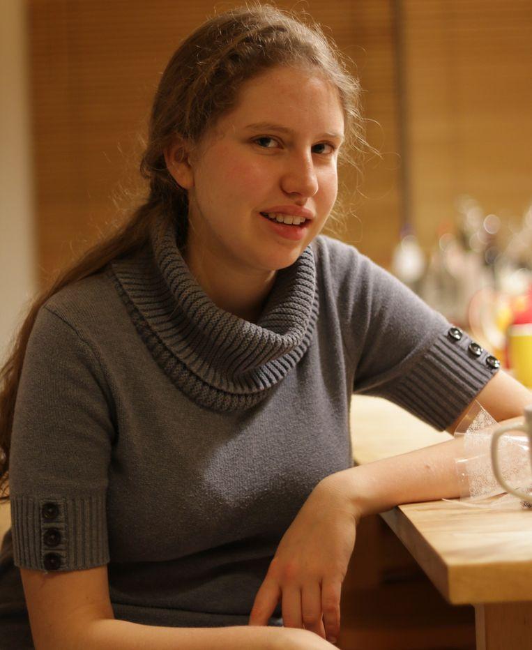 Freya Moonen uit Tienen maakte indruk met haar essay over klimaatopwarming.