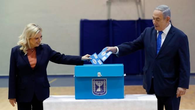 Netanyahu eist overwinning Israëlische parlementsverkiezingen op