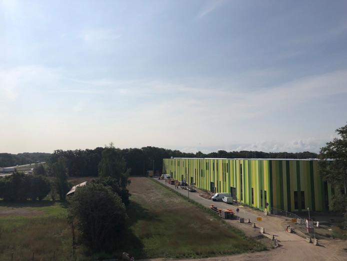 De kenmerkende buitenkant van de Brainport Industries Campus in Eindhoven.