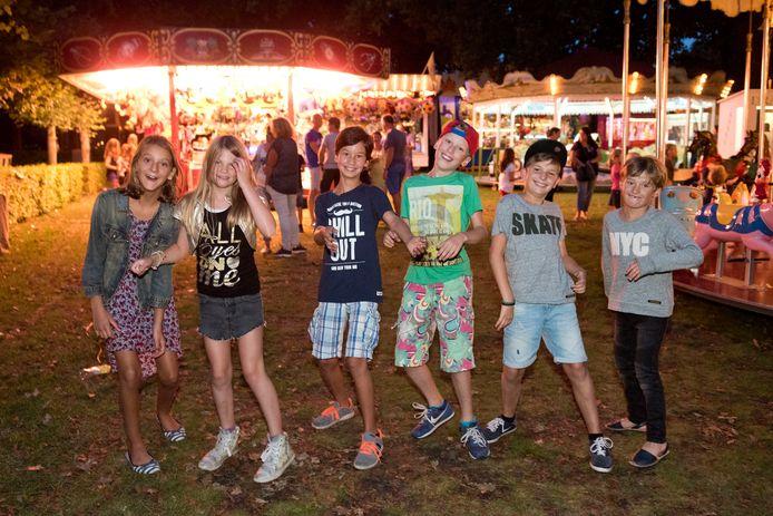 Voor de jeugd van Ulvenhout is de dorpskermis altijd een feestje.