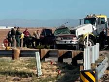 Zeker vijftien doden bij groot verkeersongeluk in Californië