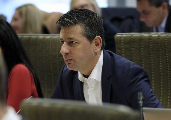 Chris Janssens is voorzitter van de Vlaams Belang-fractie in het Vlaams Parlement.