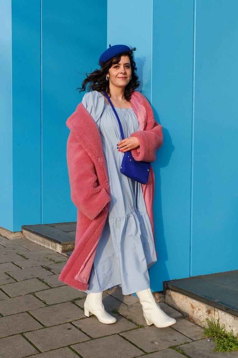 Sara Emami (36), digitaal ontwerper bij de beauty-afdeling van Philips. Beeld Carly Wollaert