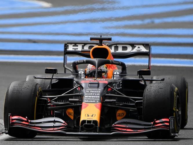 Max Verstappen troeft Lewis Hamilton af na zinderende slotfase in Frankrijk