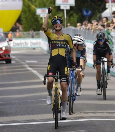 Vos draagt Giro-ritzege op aan overleden renster Verschueren: 'Ik wilde dit doen voor haar'