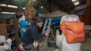 Merelbeke bijna klaar voor 53ste Carnavalsweekend: op bezoek bij de drukbezette wagenbouwers